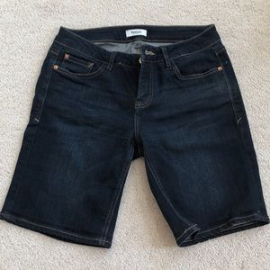 EUC Kensie Denim Bermuda Shorts